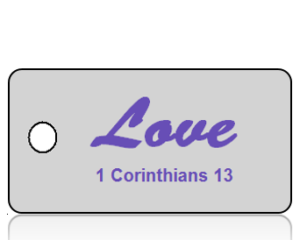 1 Corinthians 13 Bible Scripture Key Tags
