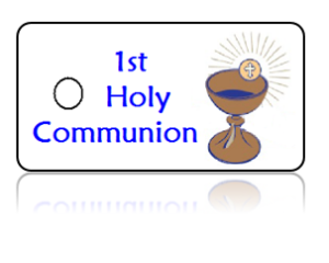 First Holy Communion Announcement Key Tags