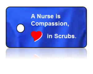 Nurse Appreciation Compassion Key Tag