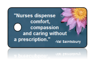 Nurse Appreciation Purple Daisy