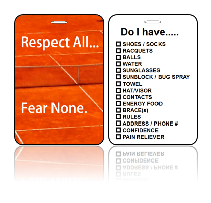 Sports Bag Tag – Fear None