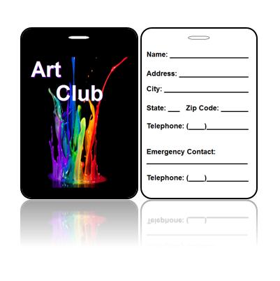 Art Club Bag Tags