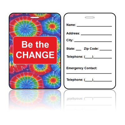 Be the Change Bag Tag