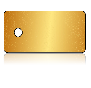 Create Design Key Tags Gold Background