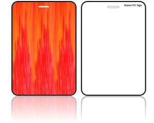 Create Design Bag Tags Modern Red Design