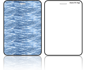 Create Design Bag Tags Blue Water Design