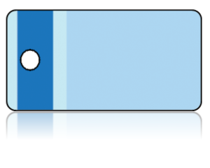 Create Design Key Tags Blue Vertical Stripe Border