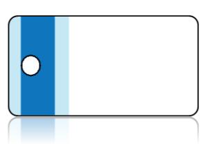 Create Design Key Tags Blue Vertical Stripes Border