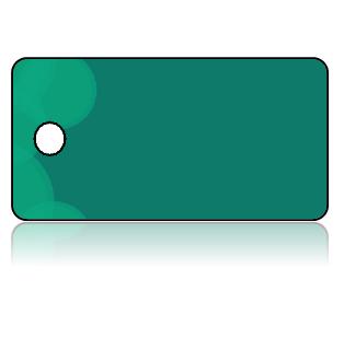 Create Design Key Tags Green Background Modern Circle Border