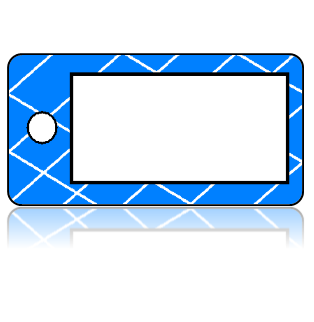 Create Design Key Tags White Box Blue Laticce