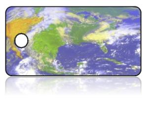 Create Design Key Tags Multi Color Earth World