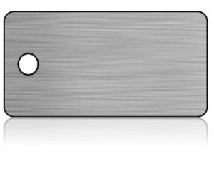 Create Design Key Tags Silver Modern