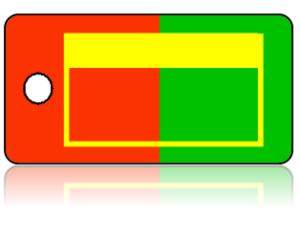 Create Design Key Tags Orange Yellow Green Modern