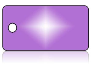 Create Design Key Tags Purple Diamond Burst