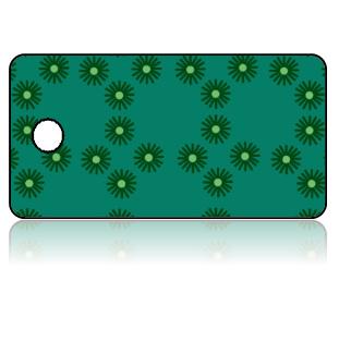 Create Design Key Tags Green Spores Modern
