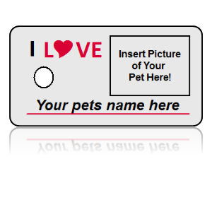 Build Your Own Personal Pet Key Tag