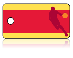 Create Design Key Tags Sports Basketball Player Action