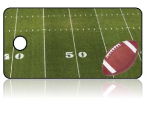 Create Design Key Tags Sports Football Field