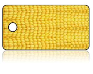 Create Design Key Tags Yellow Corn
