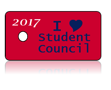 Student Council Club Key Tags