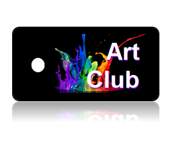 Art Club Key Tags