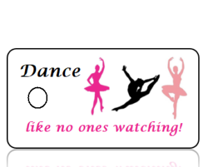 Dance Sports Team Key Tags