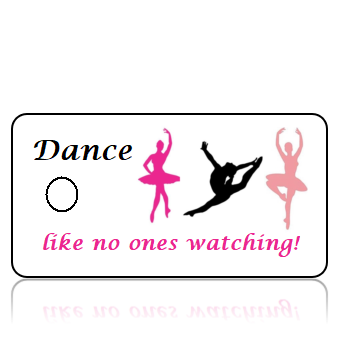 Dance01 - Like no ones watching - Pink Black Ballerina