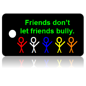 Bully Free Education Key Tag