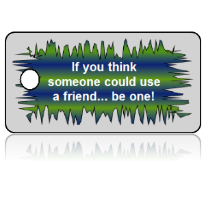 Bully Free Friend Education Key Tags
