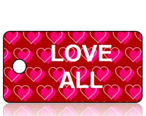 Love All Inspiration Key Tag
