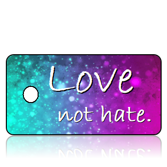 Love Inspirational Key Tags Modern Design