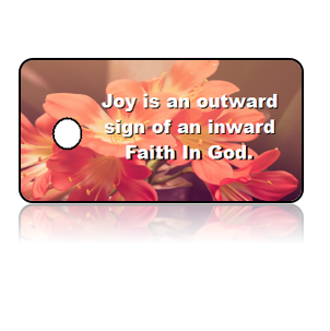 Faith Inspirational Key Tags