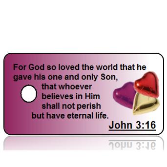 John 3 vs 16 Hearts