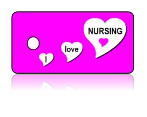 Love Nursing Key Tags – I Love Nursing