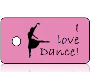 Love Dance Key Tags