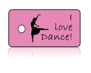 Love Dance Key Tags – I Love Dance