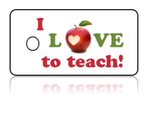 Love Teaching Apple Design Key Tags – I Love to Teach!