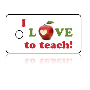 Love Teaching Apple Design Key Tags