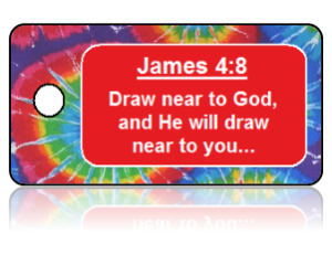 James 4:8 Bible Scripture Key Tags