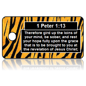 1 Peter 1:13 Bible Scripture Key Tags