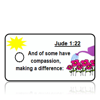 Jude 1:22 Bible Scripture Key Tags