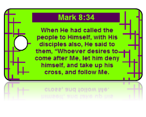 Mark 8:34 Bible Scripture Key Tags