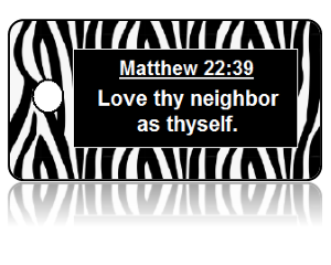 Matthew 22:39 Bible Scripture Key Tags