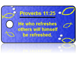 Proverbs 11:25 Bible Scripture Key Tags