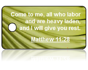 Matthew 11:28 Bible Scripture Key Tags