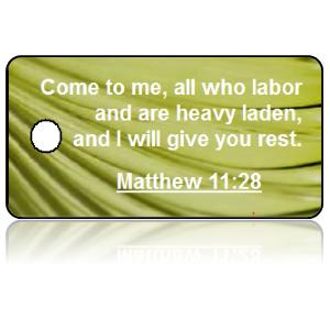 Matthew 11:28 Bible Scripture Key Tags