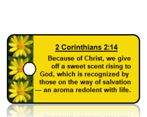 2 Corinthians 2:14 Bible Scripture Key Tag