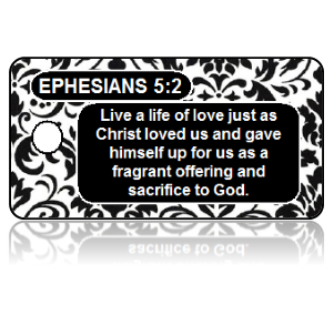 Ephesians 5:2 Bible Scripture Key Tags