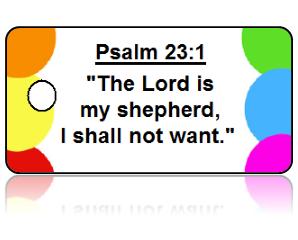 Psalm 23:1 Bible Scripture Key Tags