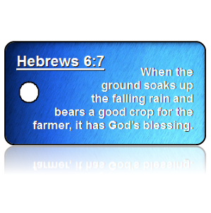 Hebrews 6:7 Bible Scripture Key Tags
